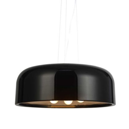 Φωτιστικό οροφής- Πλαφονιέρα Avantgarde μαύρο χρώμα Aca Decor OD5390MB