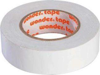 Μονωτική Ταινία PVC Στενή σε Λευκό Χρώμα Wonder 19mm x 20mm 17076-018138