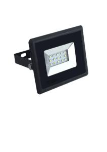 Προβολέας LED 10W Θερμό λευκό 3000K Μαύρο σώμα E-Series VTAC 5940