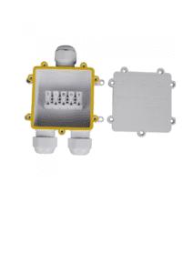 Αδιάβροχο κουτί προβολέων μονό σε διπλό Λευκό σώμα IP68 V-TAC 5981