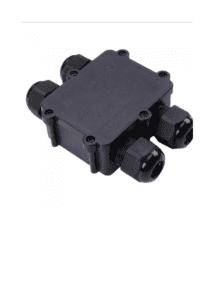 Αδιάβροχο κουτί προβολέων διπλό σε διπλό Μαύρο σώμα IP68 V-TAC 5982