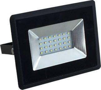 Προβολέας LED 20W Θερμό λευκό 3000K Μαύρο σώμα E-Series