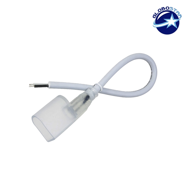 Connector για NEON FLEX με καλώδιο GloboStar 22608