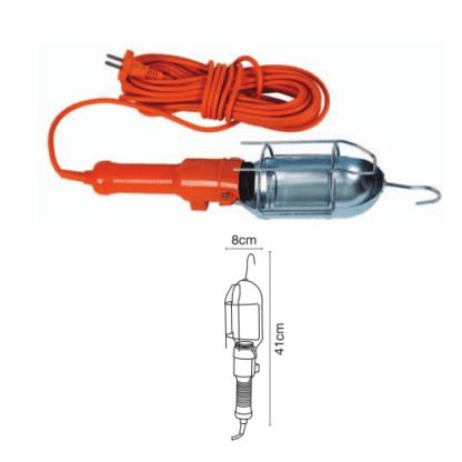 Μπαλαντεζα συνεργείου 10m E27 σε πορτοκάλι χρώμα VK 20081-065626