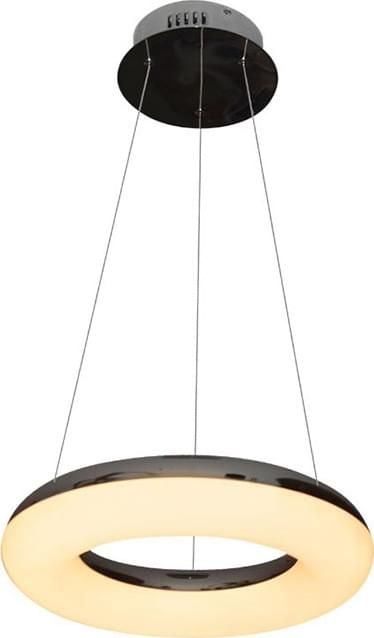 LED πολυέλαιος 40W 3000K Θερμό λευκό με ασημί και λευκό σώμα V-TAC 3874