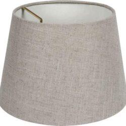 Καπέλο φωτιστικού υφασμάτινο Φ240mm σε κρεμ χρώμα LL00100