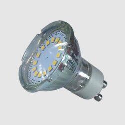Λάμπα LED GU10 3 watt ( glass cup ) VTAC 1598