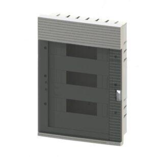 Πίνακας χωνευτός + Πόρτα 3Σ 36Μ MONO-F-M36-MONO ELECTRIC 011-230201536