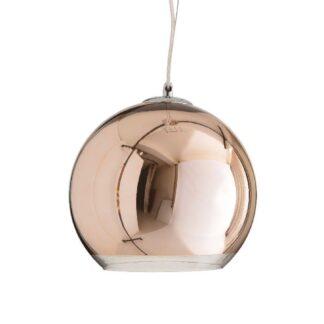 Φωτιστικό Οροφής Μπάλα σε Μπρονζε 1xE27 με Διαμ. 30cm Aca Style OYD6042ACG