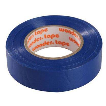 Μονωτική Ταινία PVC Στενή σε Μπλε Χρώμα WONDER 19mm x 20mm 17076-015606