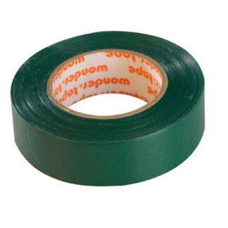 Μονωτική Ταινία PVC Στενή σε Πράσινο Χρώμα WONDER 19mm x 20mm 17076-016606