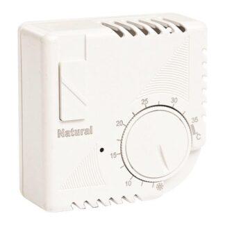 Θερμοστάτης μηχανικός σε λευκό χρώμα 147-44001