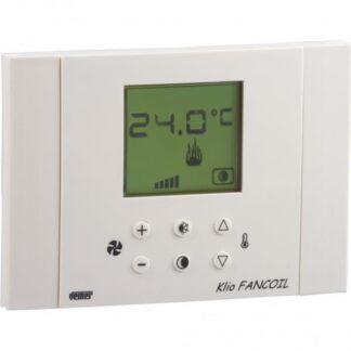 Θερμοστάτης 3 ταχυτήτων με οθόνη LCD VEMER KLIO FANCOIL 308-002335600