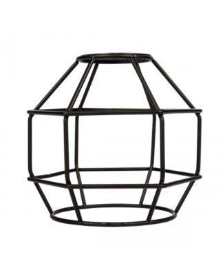 Κλουβί Αλουμίνιο Μαύρο Ε27 VK 77161-255144
