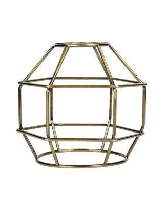 Κλουβί Αλουμίνιο Μπρονζέ Ε27 VK 77161-251144