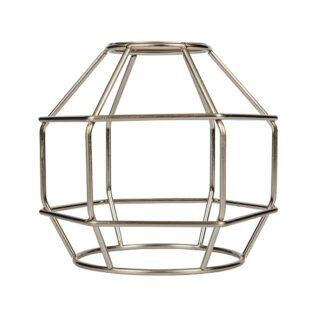 Κλουβί Αλουμίνιο Νικελ Ματ Ε27 VK 77161-252144