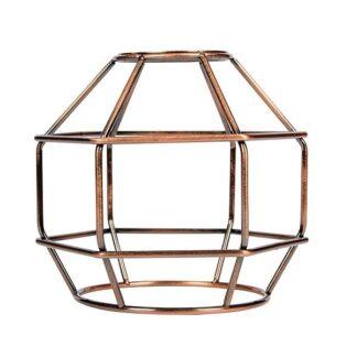 Κλουβί Αλουμίνιο Παλαιωμένο Χάλκινο Ε27 VK 77161-253144