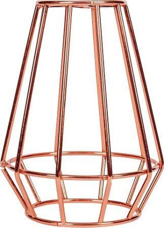 Κλουβί Αλουμίνιο Ροζ Χάλκινο Ε27 VK 77161-270144