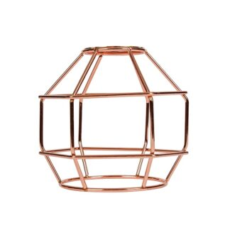 Κλουβί Αλουμίνιο Χάλκινο Ροζ Ε27 VK 77161-254144