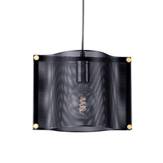 Κρεμαστό φωτιστικό μονόφωτο 1xΕ27 μάυρο χρώμα Aca Decor HM841P29BK