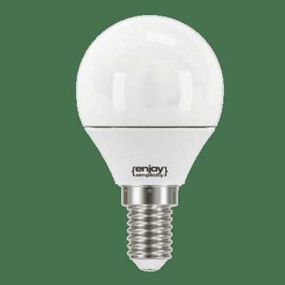 Λαμπτήρας led σφαιρικός διαφανές P45 3.1W E14 σε φυσικό λευκό φως 4000k 250lm EL731254