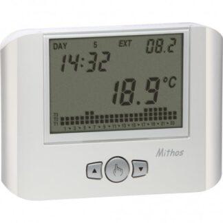 Προγραμματιζόμενος θερμοστάτης χώρου ψηφιακός ημερήσιος - εβδομαδιαίος (1 μπαταρία AA) | VEMER MITHOS 308-002328100