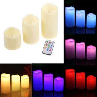 Διακοσμητικά Κεριά LED