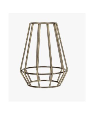 Κλουβί Αλουμίνιο Μπρονζέ Ε27 VK 77161-267144