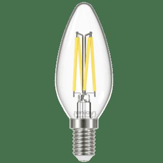 Led filament clera 6W E14 σε φυσικό λευκό φως 4000K EL822825