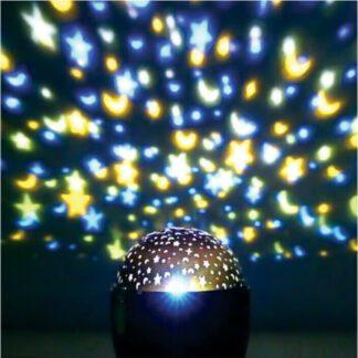 Προτζέκτορας LED δωματίου 2 χρωμάτων, με μπαταρίες 27-00915
