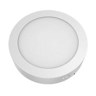 Panel Led στρογγυλό επίτοιχο σε λευκό χρώμα Φ170 12W 230V σε ενδιάμεσο φως 4000k ARCA1240RW
