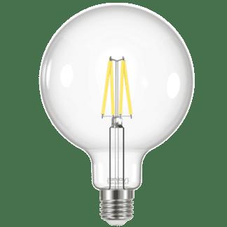 Λαμπτήρας Led Filament Clear G125 6.7W E27 σε φυσικό φως 4000k 806lm EL822861