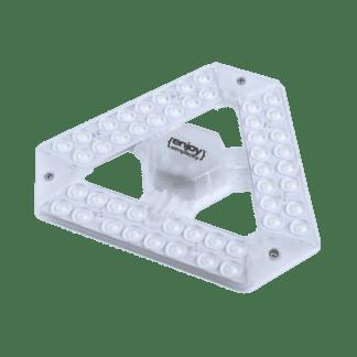 Led λαμπτήρας Φ203mm T9 Με Μαγνητη 25W G10Q σε ψυχρό φως 5700K 2200LM EL609256