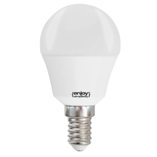 Led λαμπτήρας P45 5.5W E14 σε θερμό φως 2700k 470lm EL645452